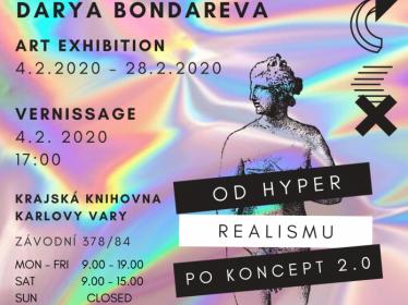 Výstava Darya Bondareva