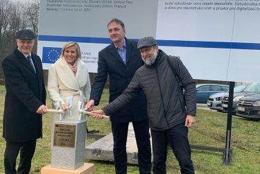 Začala výstavba depozitáře Krajské knihovny Karlovy Vary