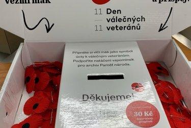 Sbírka ke Dni veteránů
