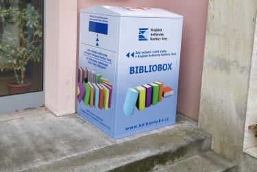 Čtenáři krajské knihovny mohou využívat nový Bibliobox
