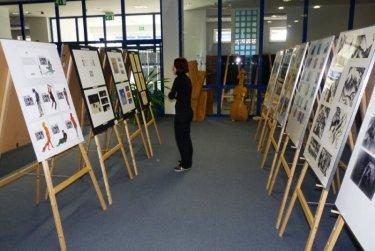 Výstava SSUPŠ Zámeček Křimice