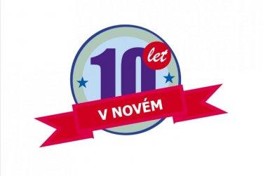 Slavíme 10 let v nové budově!