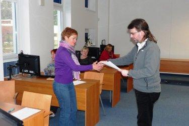 Předávání certifikátů - PC kurz pro prokročilé