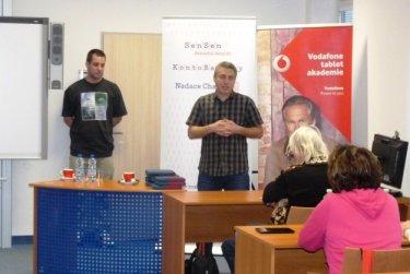 Vodafone akademie - začínáme s tablem