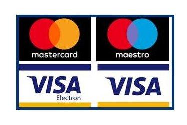 Platby kartou ve čtenářském kontě