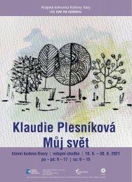 Klaudie Plesníková: Můj svět