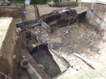 Cisterna na Vladaři zkoumaná v roce 2010