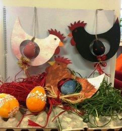 Závěsná velikonoční dekorace
