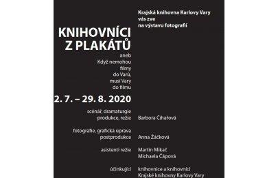 Knihovníci z plakátů aneb Když nemohou filmy do Varů musí Vary do filmu