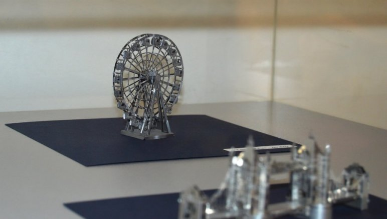 3D metal puzzle