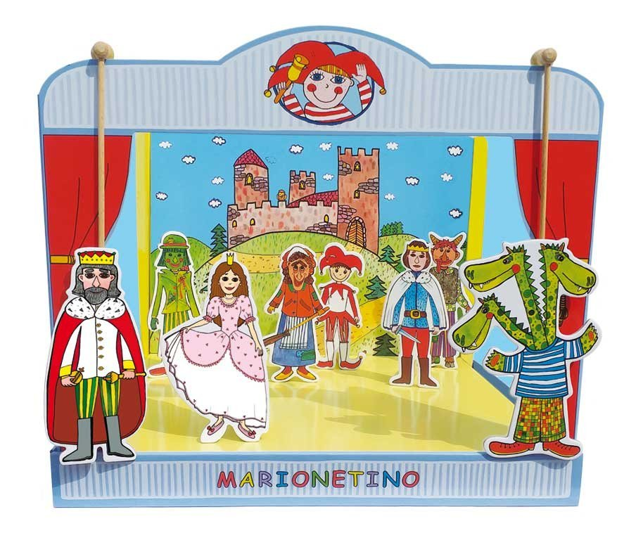 Bábkové divadlo univerzálne Marionetino