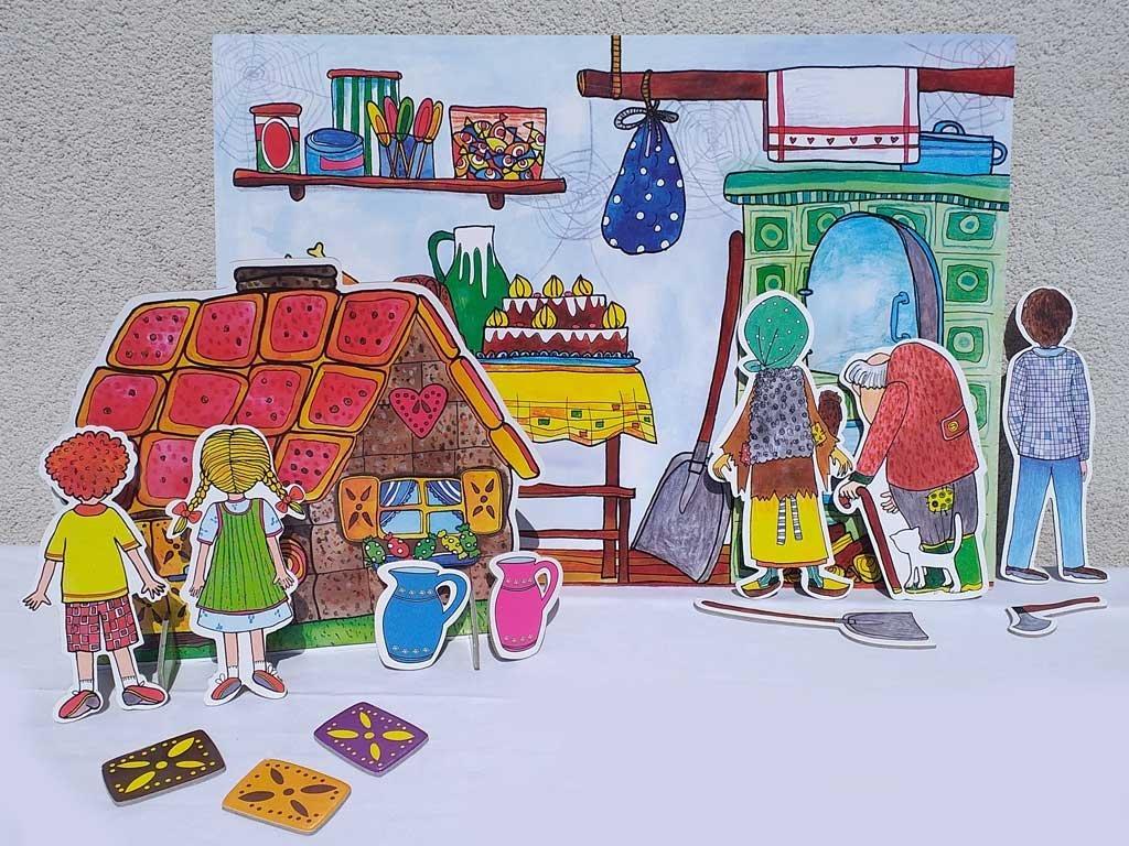 Bábkové divadlo 30 bábok