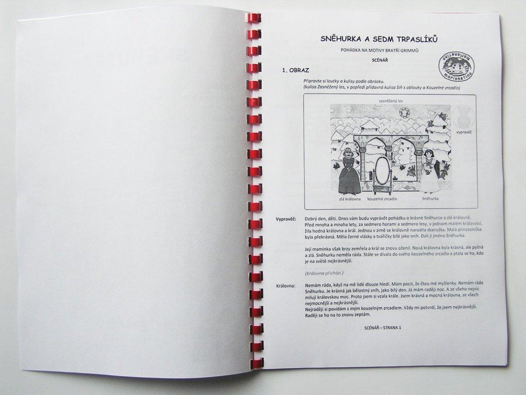 Snehulienka a sedem trpaslíkov - text