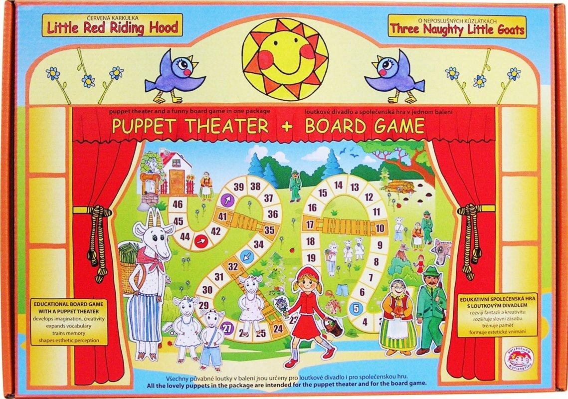 Spoločenská hra s bábkovým divadlom