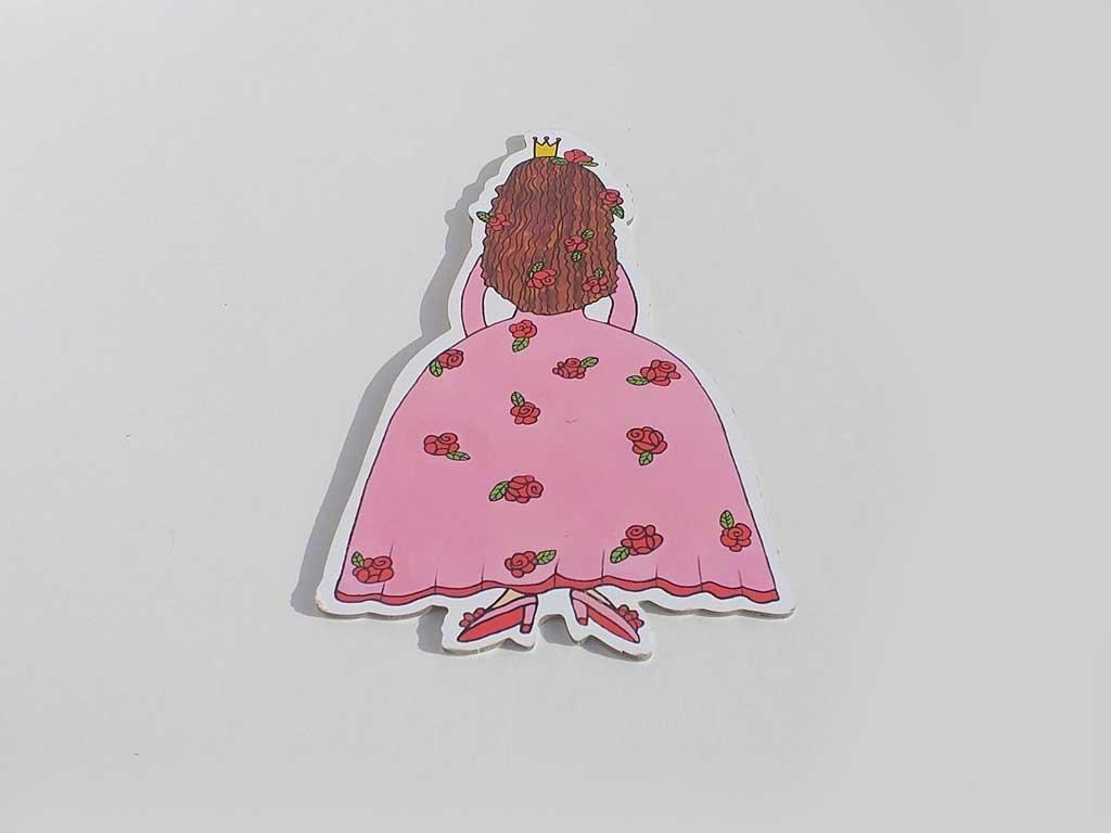 Šípková Ruženka - bábky, postieľka