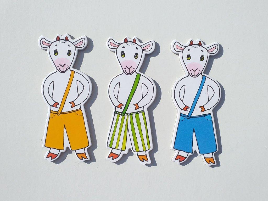 Koza a kozliatka - bábky
