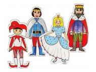 Gašparko, princezná, kráľovná, kráľ