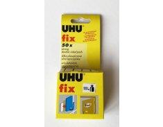 UHU fix 50 dílků bílé oboustranné lepící pásky