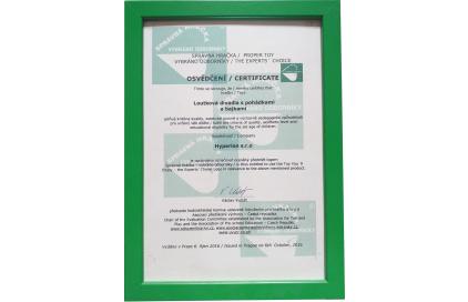Certifikáty a ocenenia