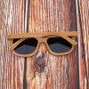 Pánské dřevěné sluneční brýle polarizované ZA03