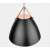 Závěsná lampa Perona - černá
