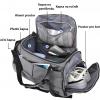 Univerzální sportovní taška s odděleným prostorem pro obuv a textil