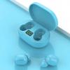 Bezdrátová sluchátka E6S s bluetooth 5.0 a dobíjecím pouzdrem - Modrá