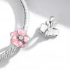 Bamoer stříbrný přívěsek Květ třešně
