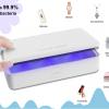 Bezdrátová QI nabíječka se sterilizátorem mobilních telefonů