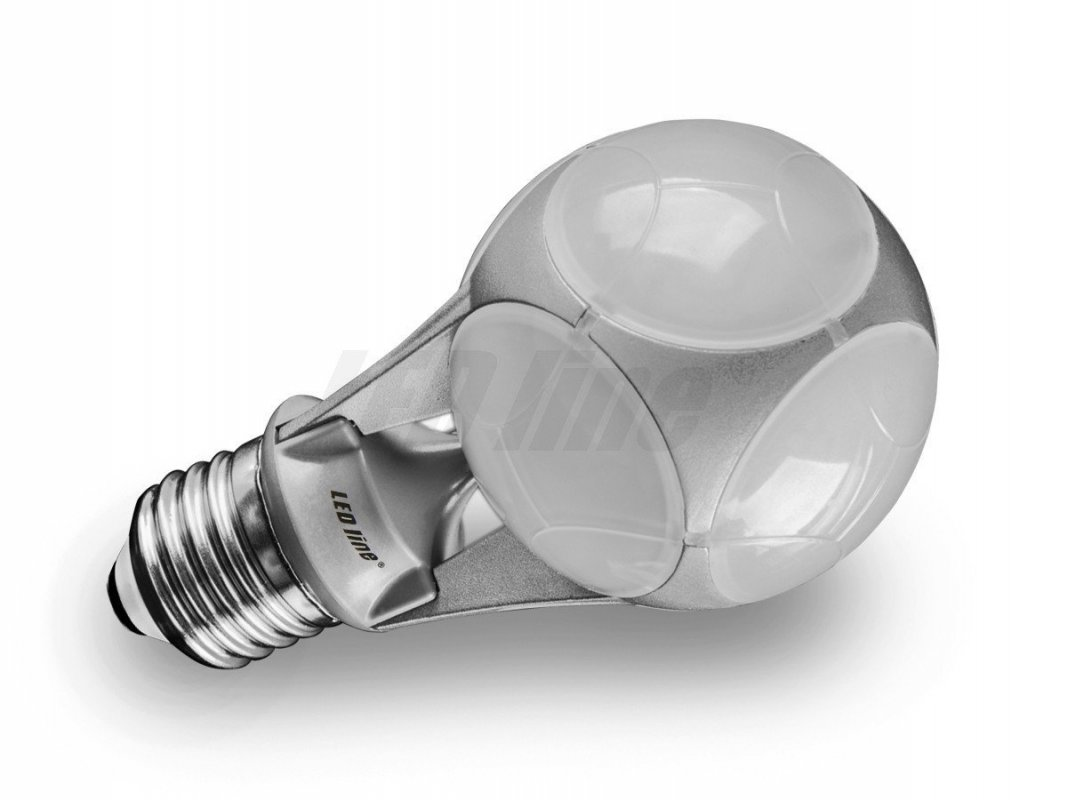 Led Line LED žárovka E27 10W 700lm CCD teplá (60W)