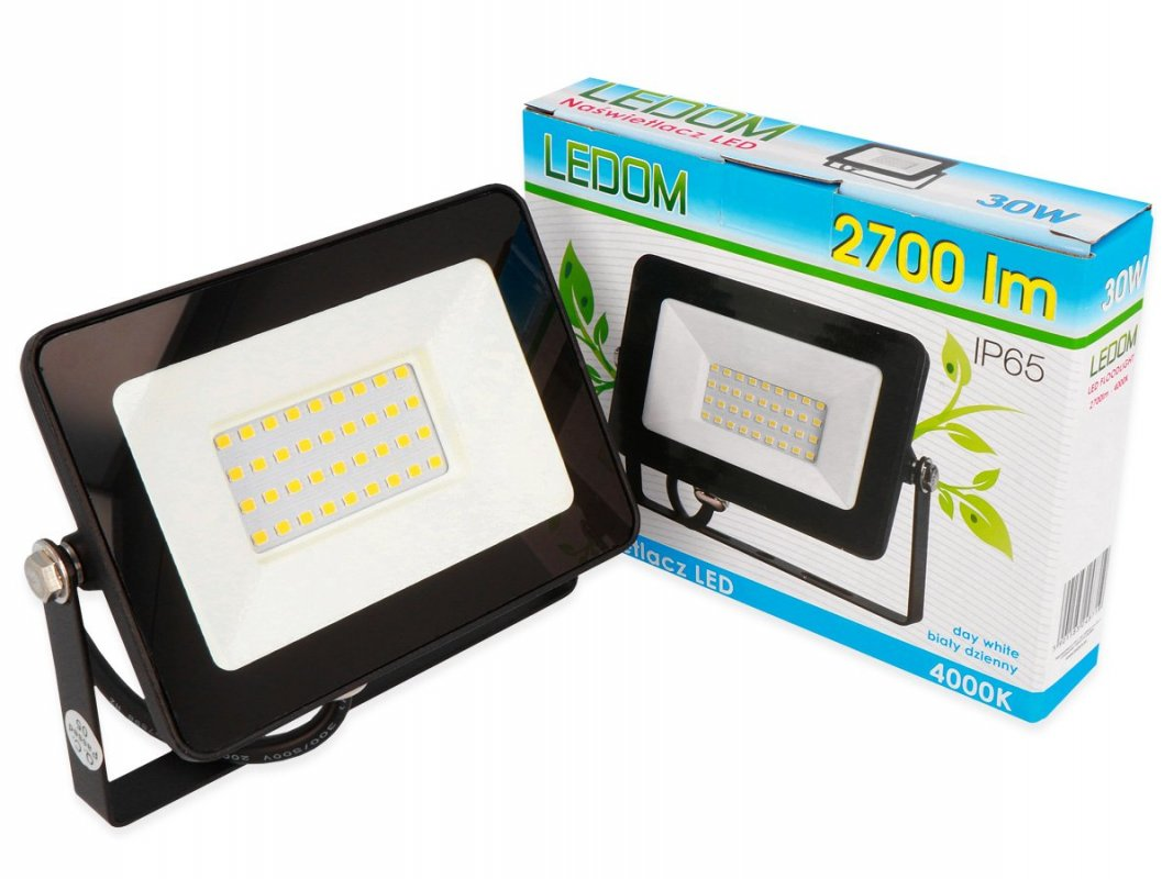 Ledom LED reflektor 50W 3500lm denní