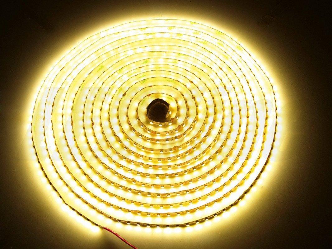 Led Line LED pásek 5 metrů 600smd3528 48W IP65 teplá