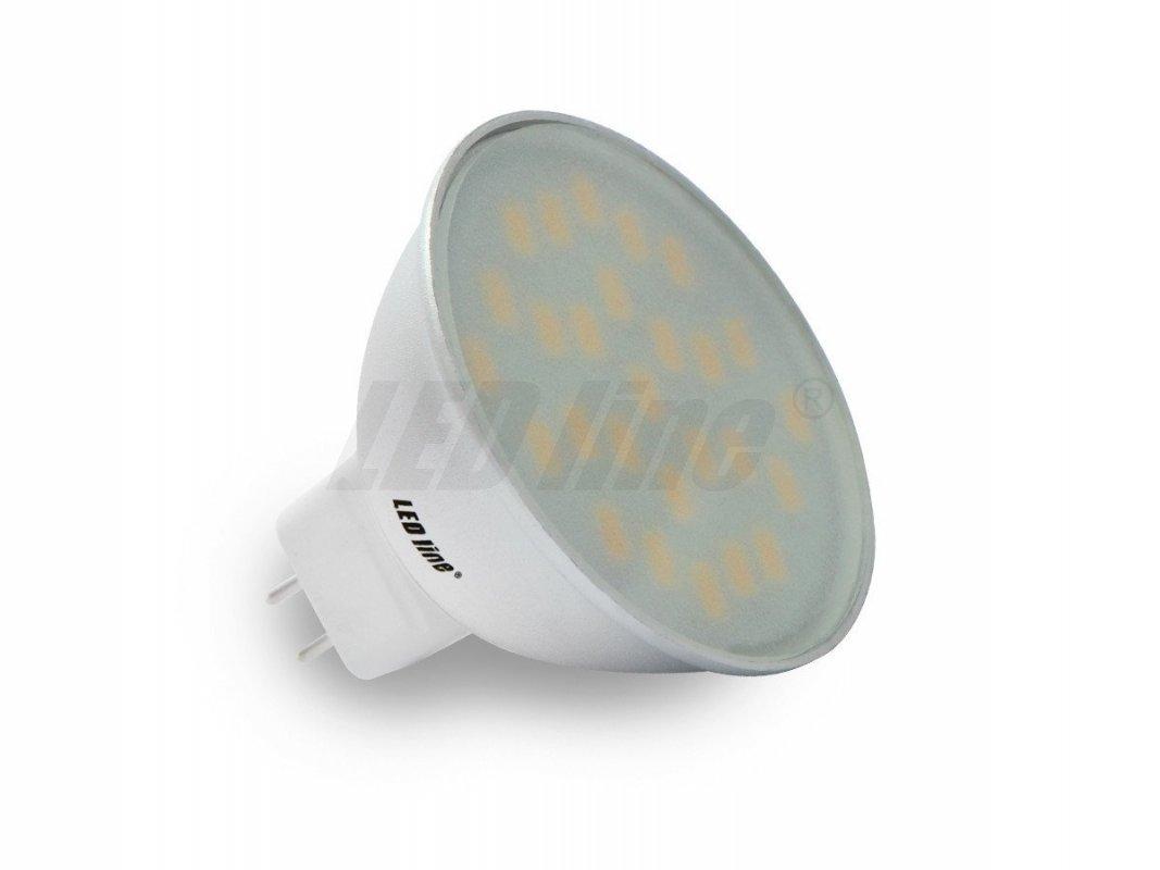 Led Line LED žárovka MR16 4,5W 340lm 12V studená