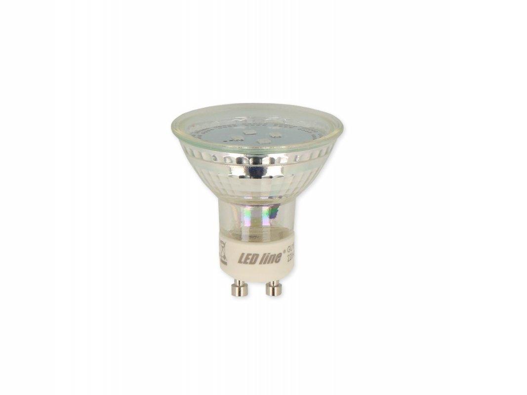 Led Line LED žárovka GU10 SMD 1W 80lm denní (10W)
