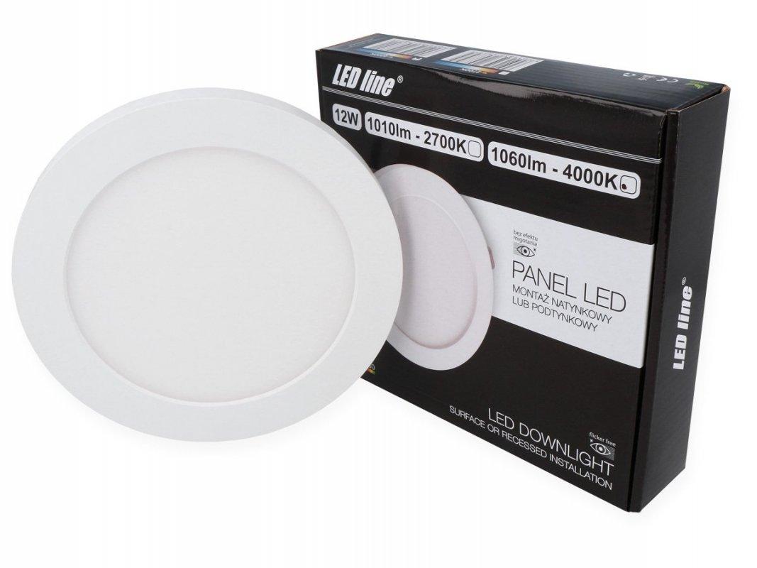 Led Line LED panel vestavný 12W 1060lm denní