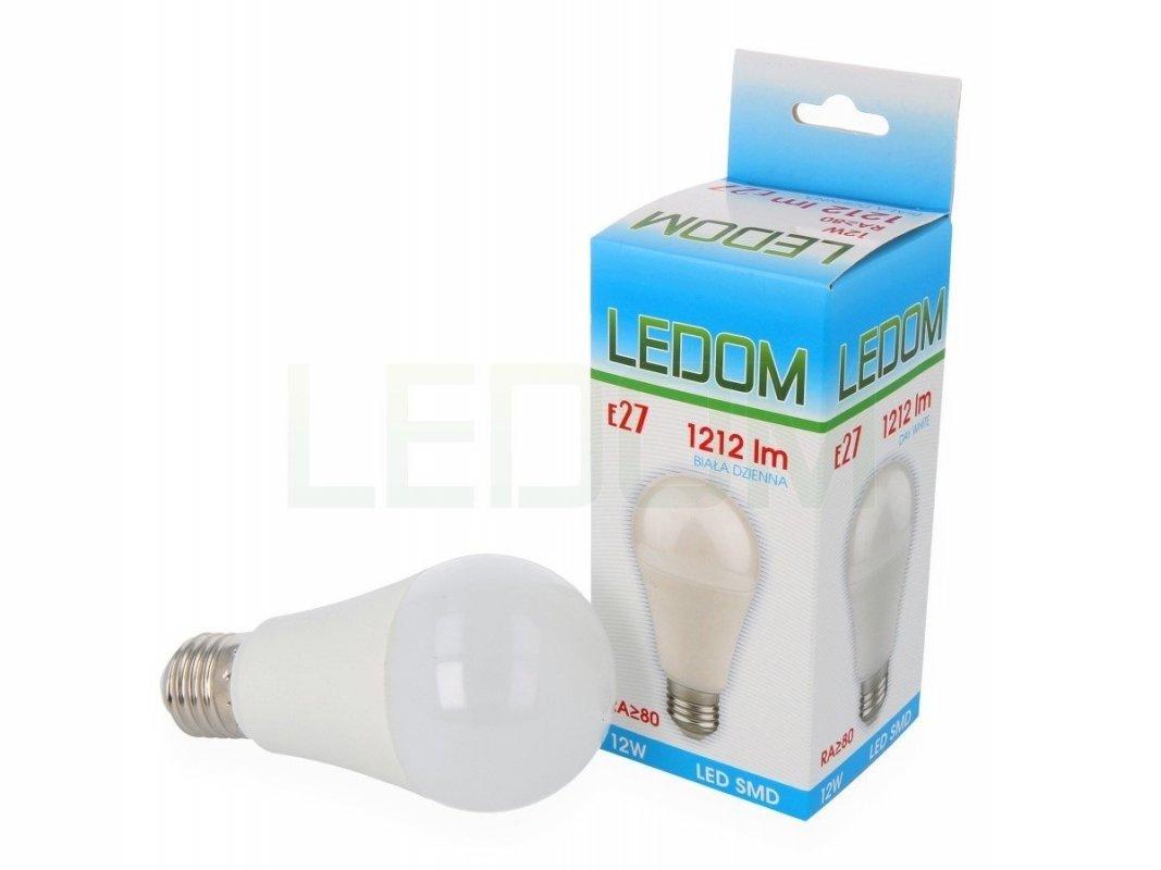 Ledom LED žárovka E27 12W 1212lm denní (85W)