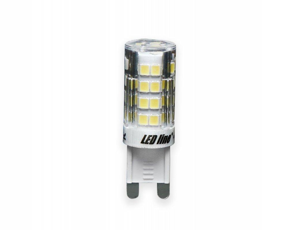 Led Line AKCE: 9 + 1 Led žárovka G9 4W 350lm studená (40W)