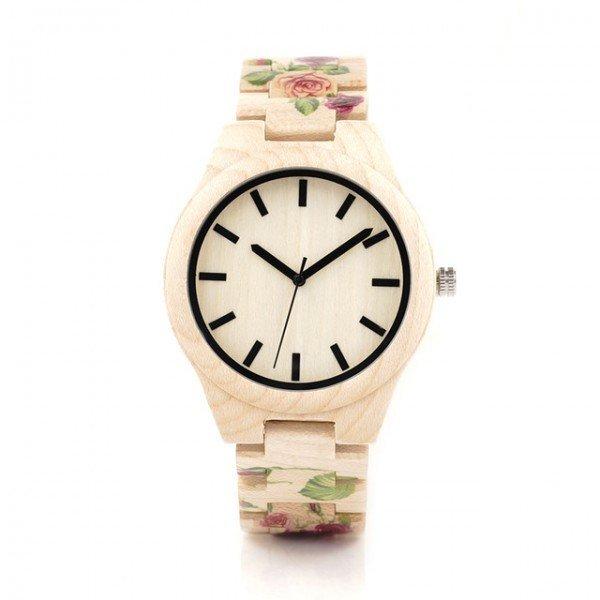 Dřevěné hodinky BOBO BIRD L26