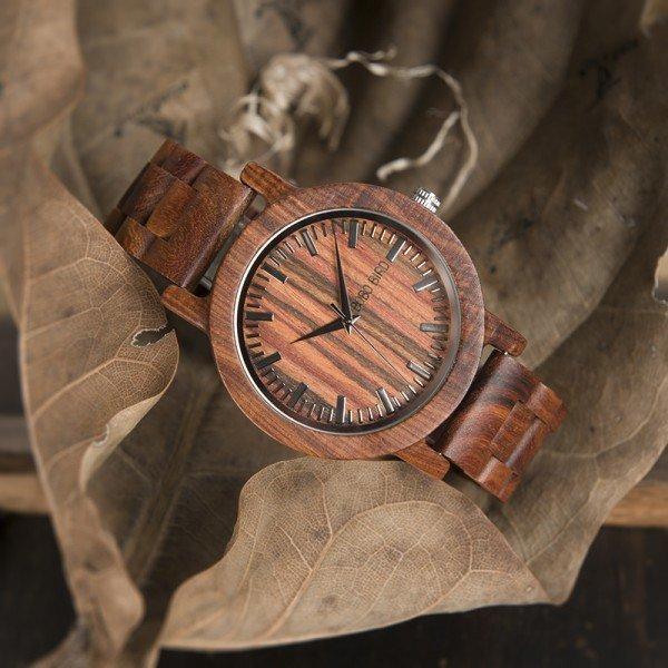 Dřevěné hodinky BOBO BIRD WM10