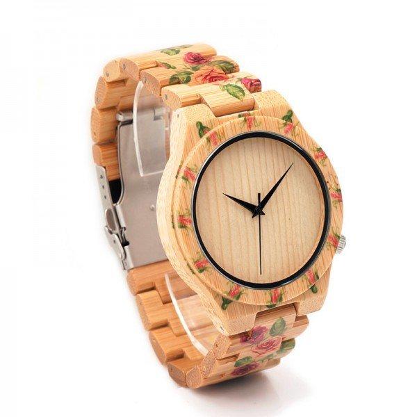 Dřevěné hodinky BOBO BIRD WD21