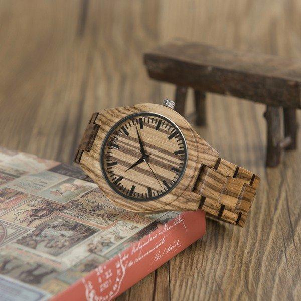 Dřevěné hodinky BOBO BIRD WG22