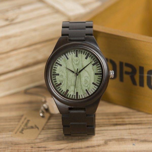 Dřevěné hodinky BOBO BIRD WH03