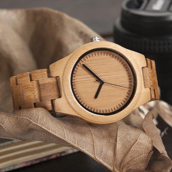 Dřevěné hodinky BOBO BIRD WG27