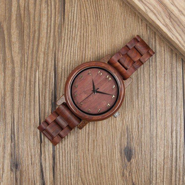 Dřevěné hodinky BOBO BIRD WN13