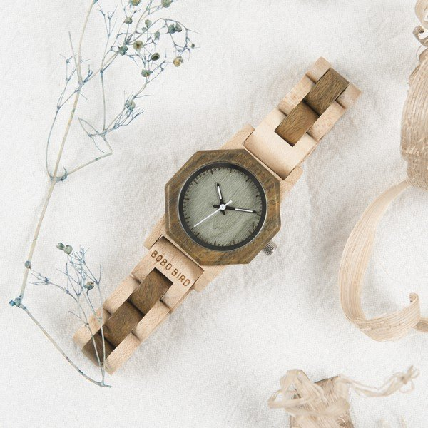 Dřevěné hodinky BOBO BIRD WM25