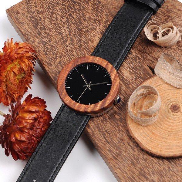 Dřevěné hodinky BOBO BIRD WJ01