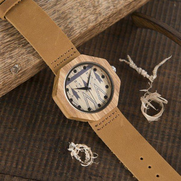 Dřevěné hodinky BOBO BIRD WD04