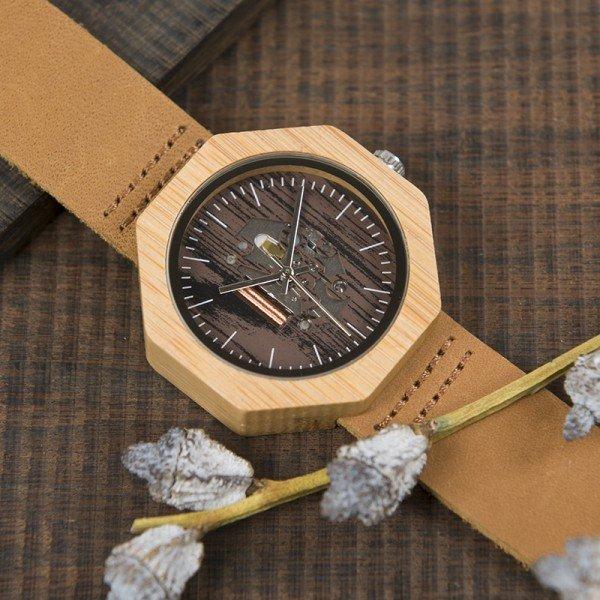 Dřevěné hodinky BOBO BIRD WI09