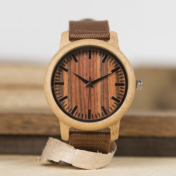 Dřevěné hodinky BOBO BIRD WD10