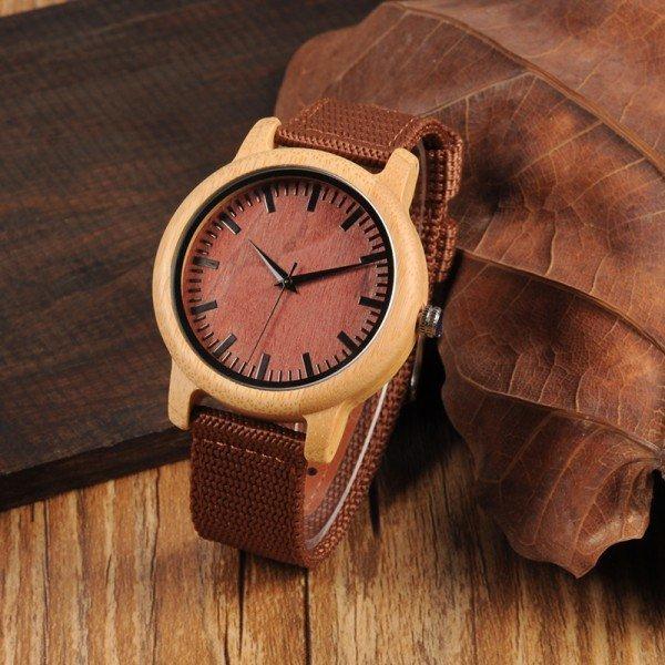 Dřevěné hodinky BOBO BIRD WD09
